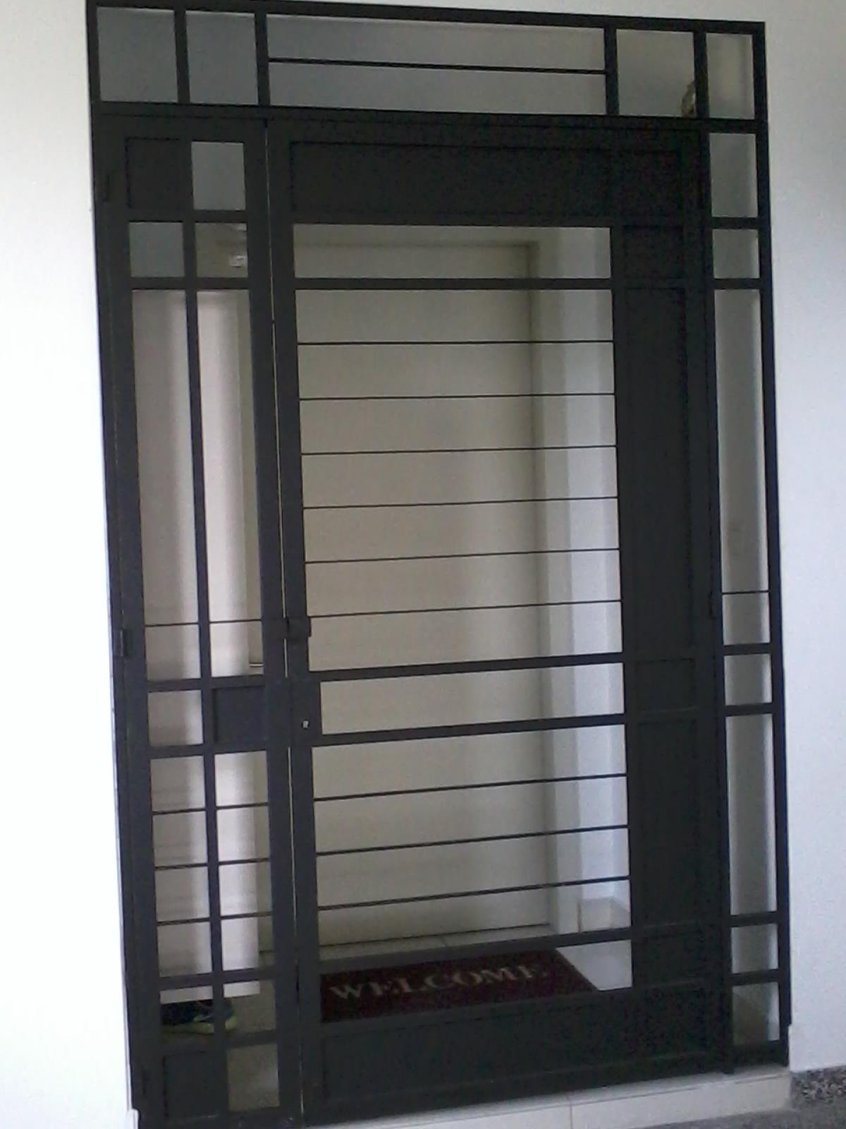 Door grille malaysia security door malaysia stainless for Door design malaysia